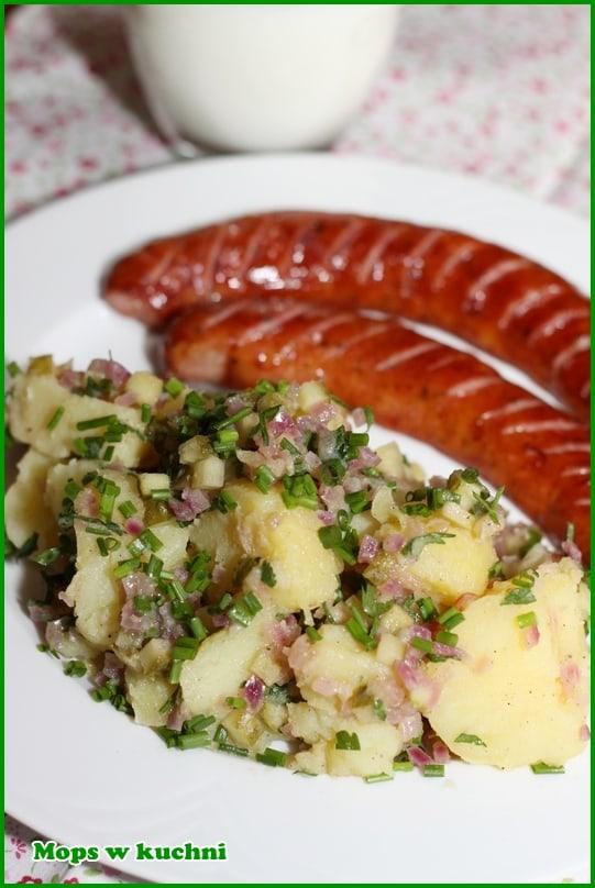 Mops W Kuchni Blog Archive Kartoffelsalat Niemiecka Salatka